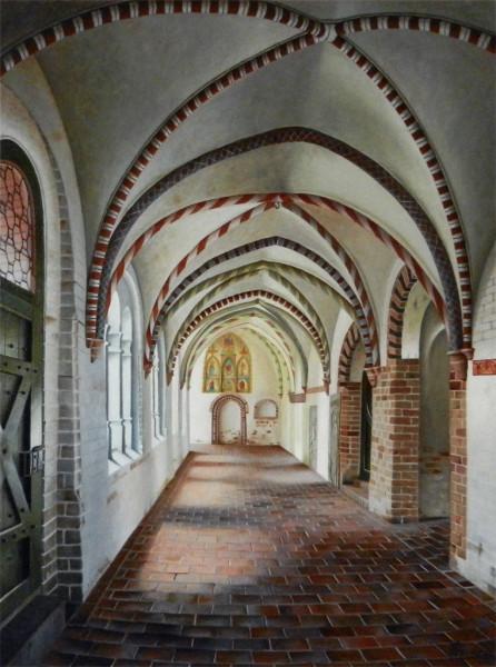 Klostergang im Ratzeburger Dom